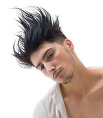 Spiky Hairstyles for Men:Tutorial