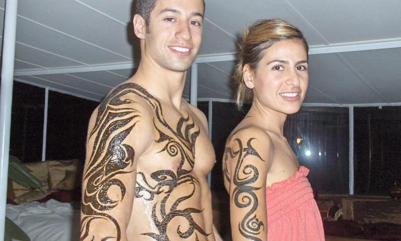 Latest Temporary Henna Tattoos 2013