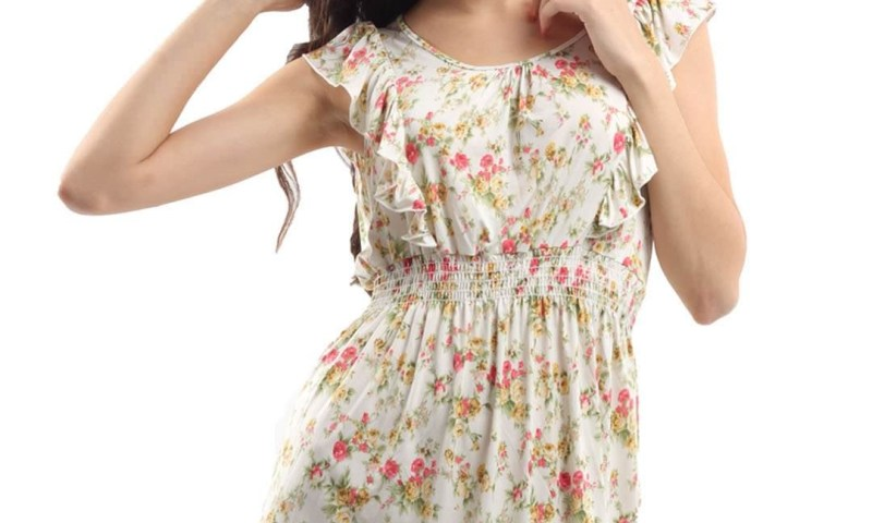 Latest Floral Dresses For Women 2013