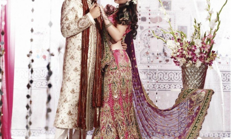 Latest Indian Bridal Dresses for Women 2013