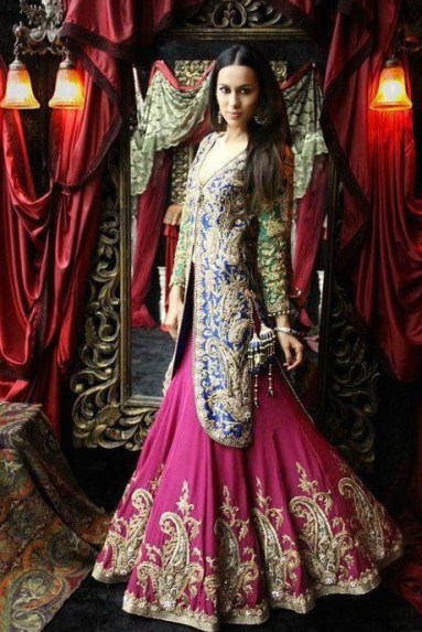 elegant-and-stylish-bridal-lehnga-for-women