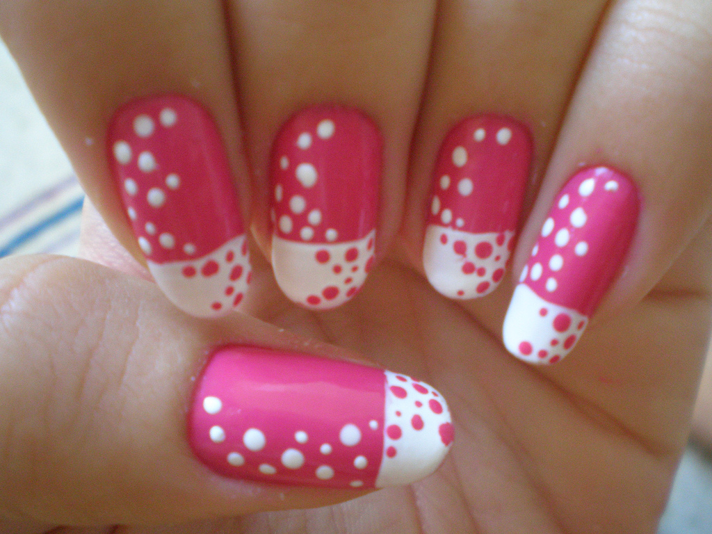 Stylish nail art designs ideas for girls 2013 inkcloth pink nail art design for girls prinsesfo Choice Image