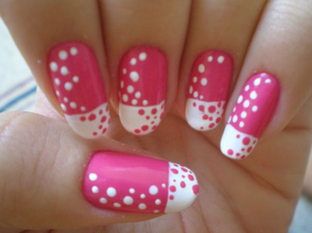 pink-nail-art-design-for-girls