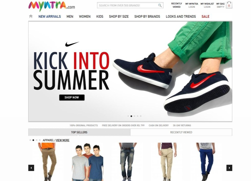 Top 10 Online Shopping Websites in India 2013