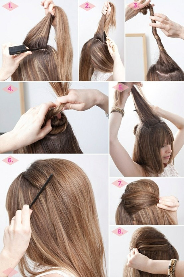 Easy Hairstyles To Do At Home 11 Inkcloth