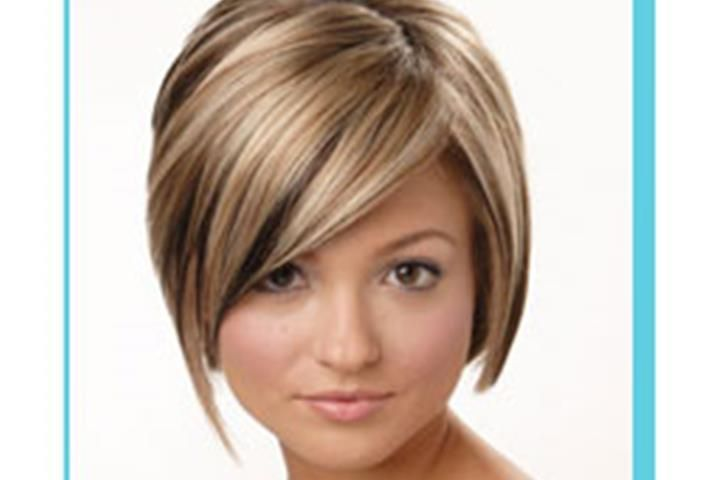 Hairstyles For Round Faces 2011