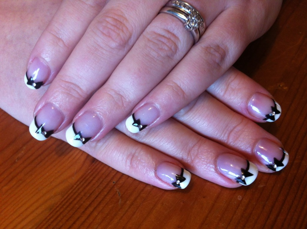 Nail Design Ideas French Manicure 11 - Inkcloth