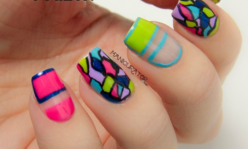 Freehand Nail Art Designs