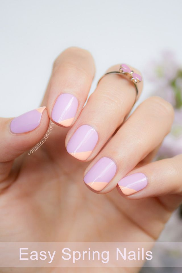 Nail Design Ideas For Spring 11 - Inkcloth