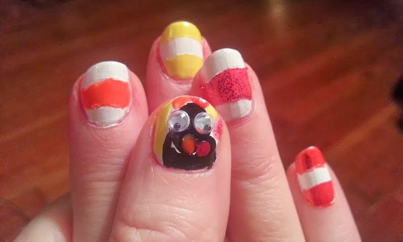 Nail Design Ideas For Thanksgiving