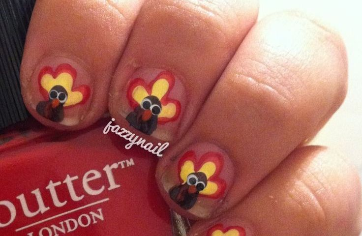 Thanksgiving Nail Polish Ideas