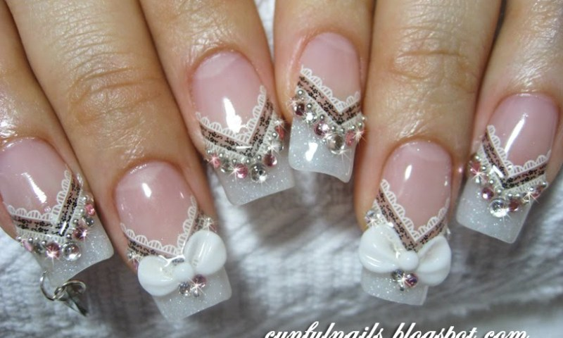 Nail Design Ideas For Wedding