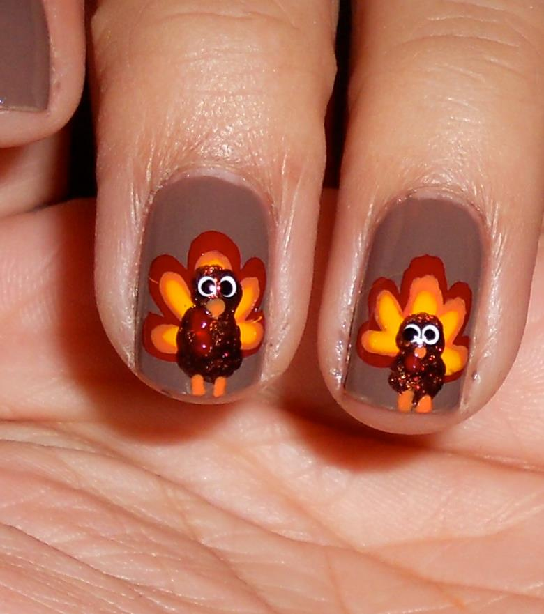 Thanksgiving Nail Design Ideas Style Inkcloth