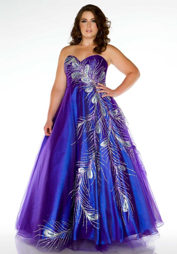 Prom Dresses For Plus Size Girls Inkcloth