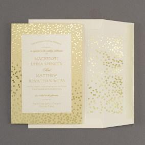 Gold Foil Stamped