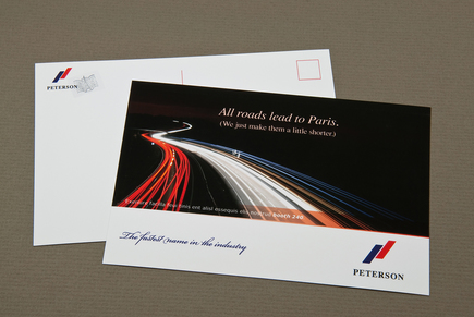 Upscale Automobile Company Postcard Template Inkd