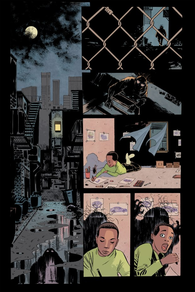 Josh Glass kidnapped in Gray Cells comic