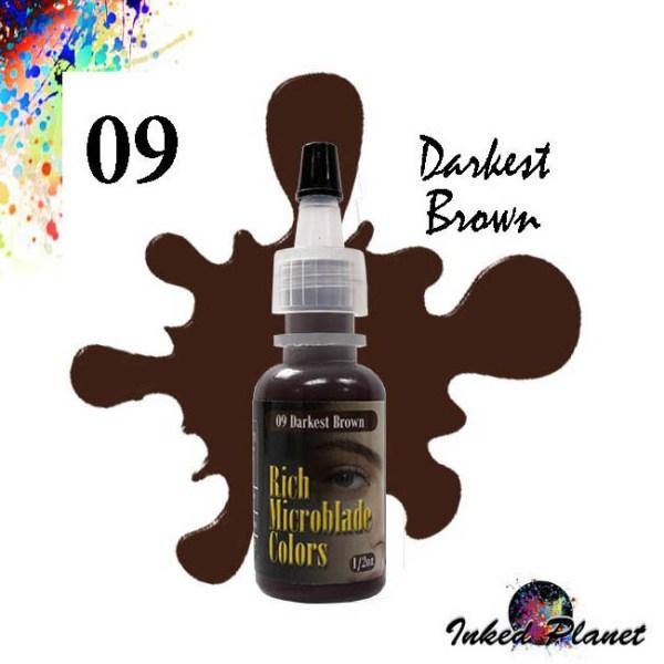 09 Darkest Brown 15ml