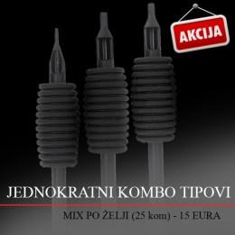 Sterilni Kombo Tip Mix 25 kom
