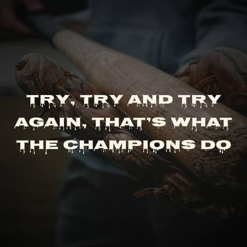 Champions Quote On Hardwork