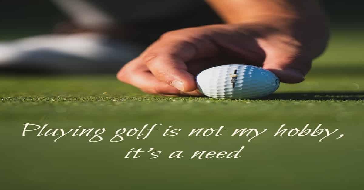 girls golf love quote