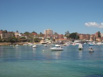 View from Manly Wharf
