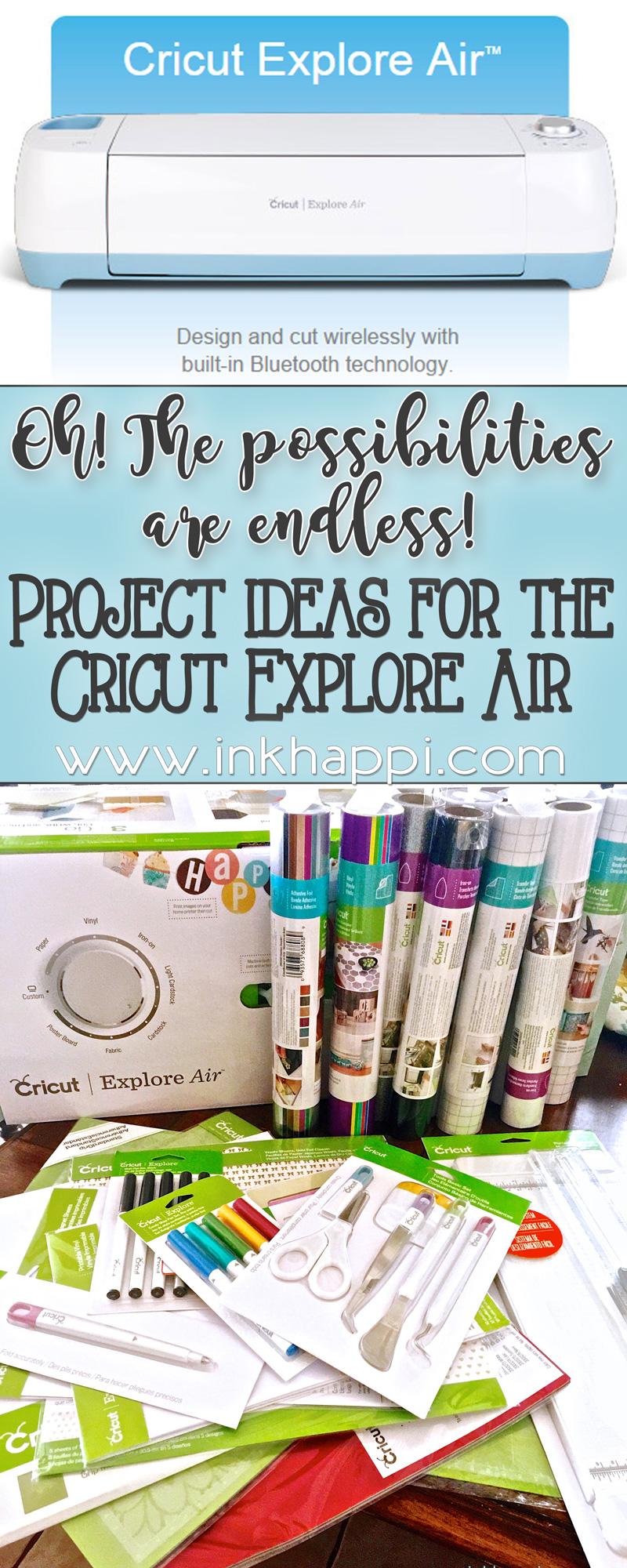 Cricut Explore Project Ideas Oh The Possibilities