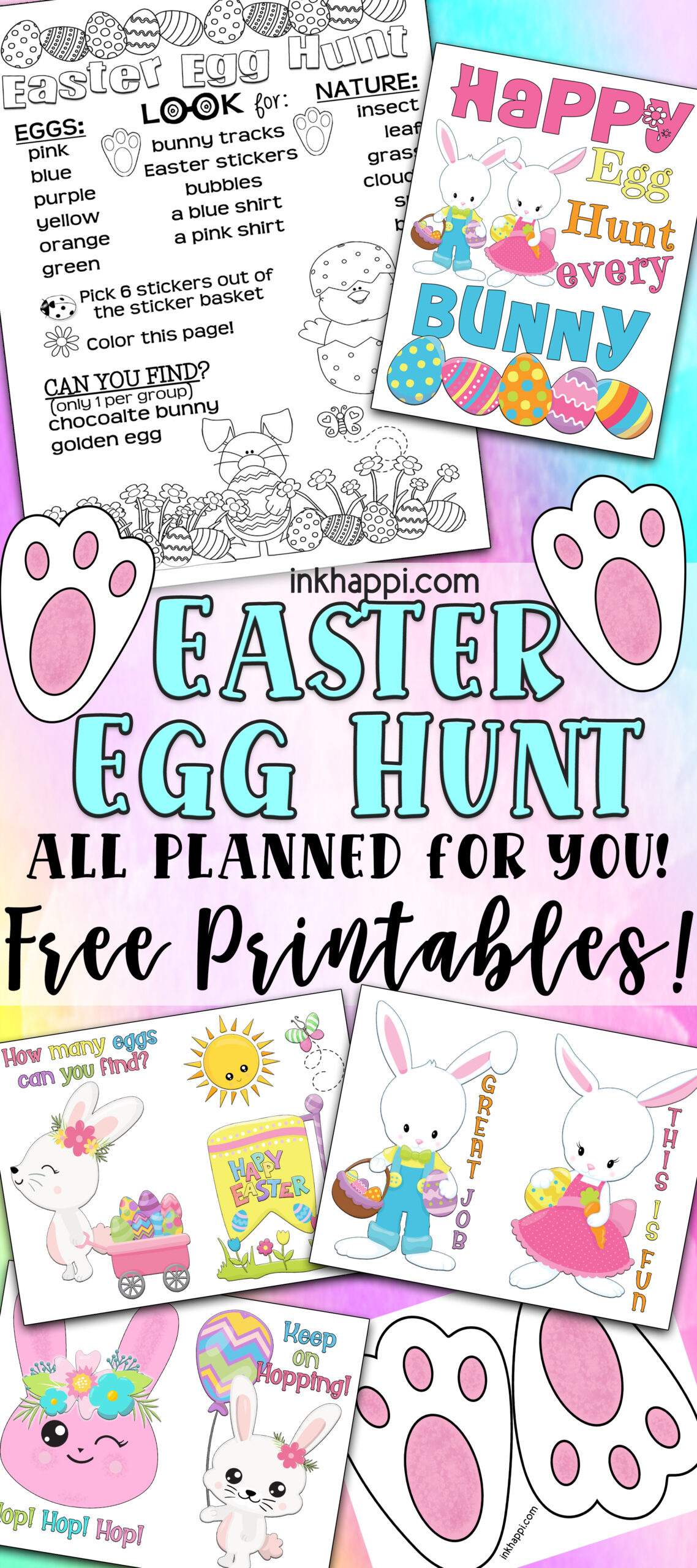 Easter Egg Hunt All Planned Out For You Plus Free