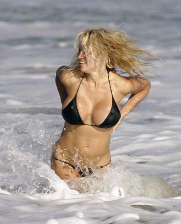Pamela Anderson en bikini