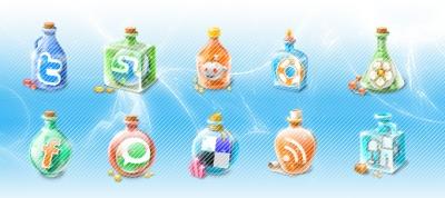 Iconos sociales para tu blog