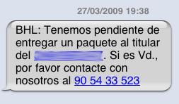 timo por sms