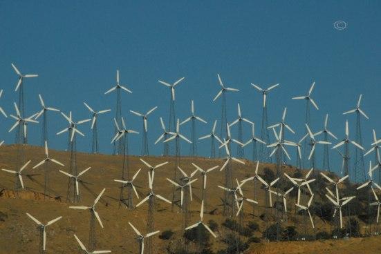 Wind Turbines near Tehachapi Pass