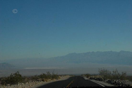 Hwy 190 Death Valley