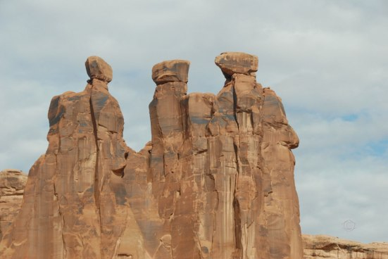 """The Three Gossips"" Arches National Park, UT"