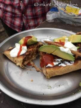 Ratatouille & Chicken Burrito