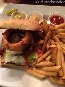 The Ohio Burger. Delicious!