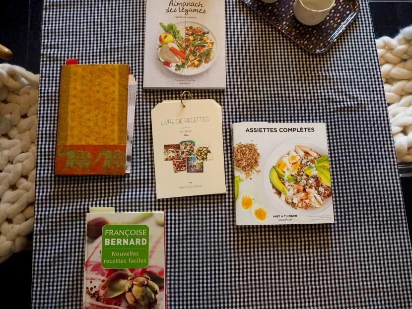 Livres de recettes Marie Gauthier