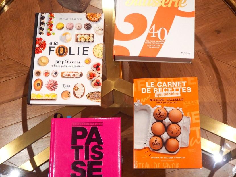 Livres de recettes chez Nicolas Paciello