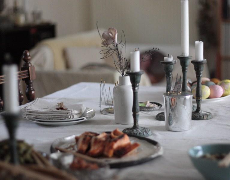 Table décorée Astrid Lecornu
