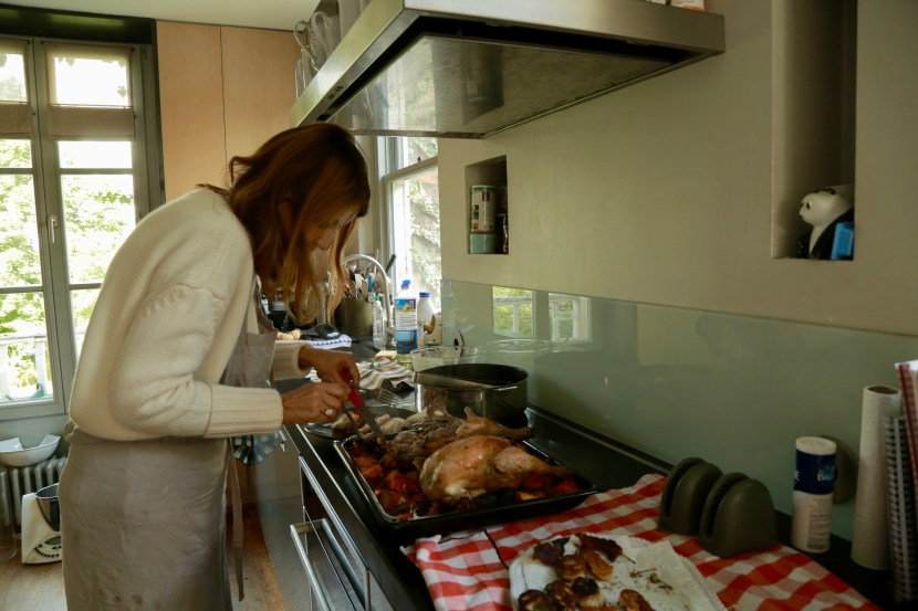 Lucille en cuisine