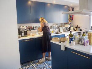 Adèle en cuisine
