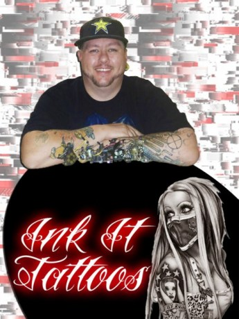 Jacques Jooste Owner & Artist Ink IT Tattoos Durban