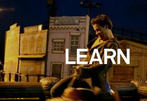 LEARN - man on saddle