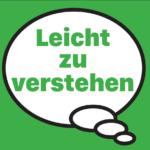 Gedankenblase auf grünem Hintergrund mit der Aufschrift