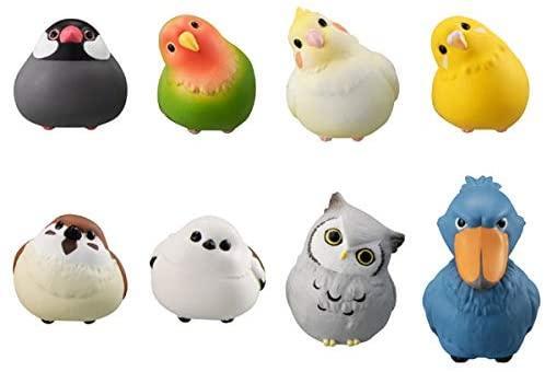 第二弾こーどの鳥さん2は初代とは異なる8種類の小鳥のラインナップ