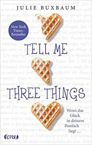 Buxbaum_Tell Me Three Things_deutsch