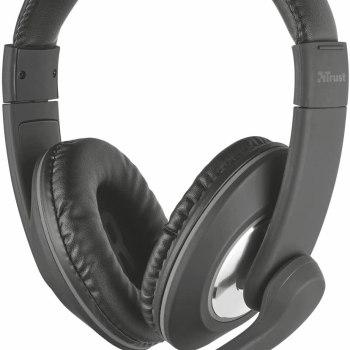 Cuffia + Microfono 3,5mm Reno Trust [21662]