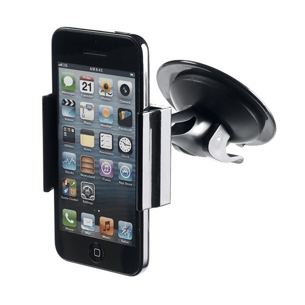 Supporto universale da auto per smartphone Celly col.nero