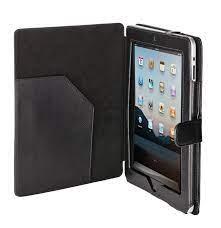 Custodia in pelle sintetica iPad 2/3 Trust col.nero