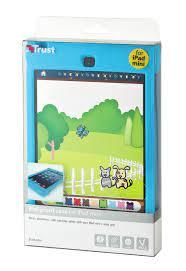 Custodia in silicone per iPad mini Trust col.blu